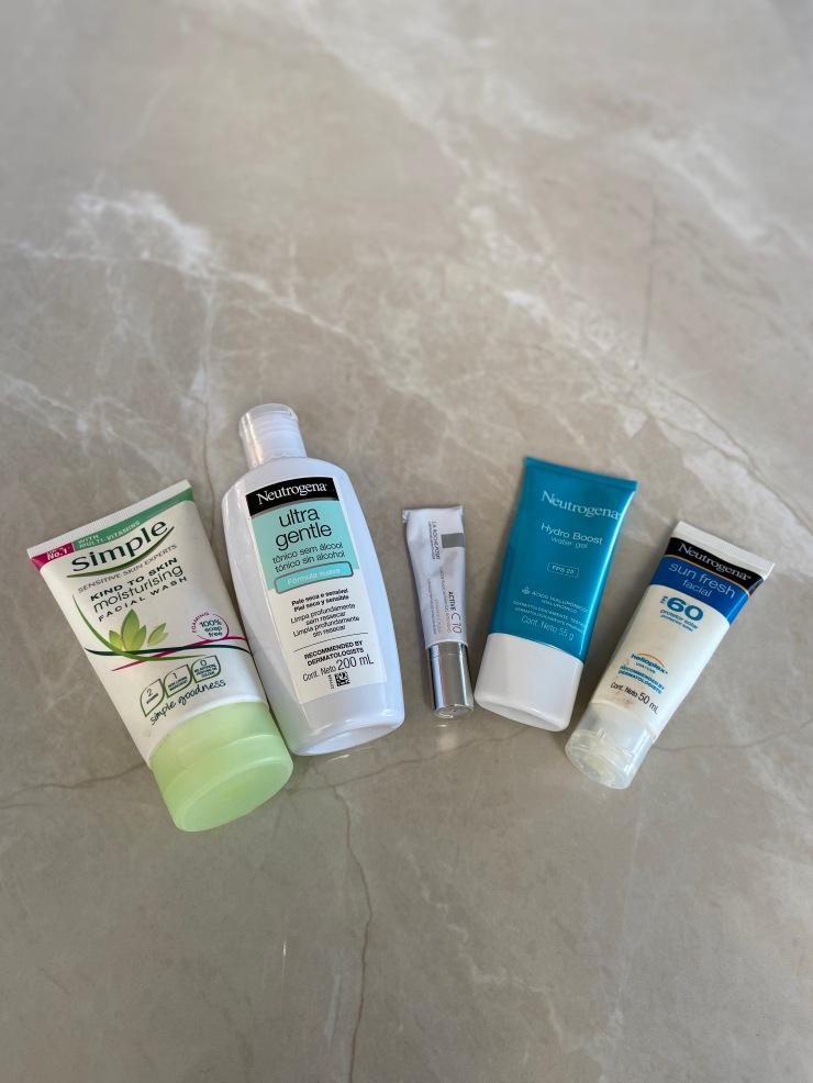 produtos skin care